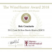 2018_WineHunter Award_Coste-di-rose-riserva